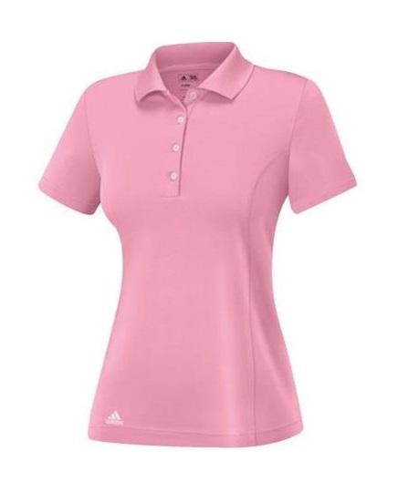 Adidas Essentials Cotton Damen Poloshirt, rosa