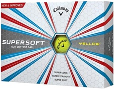 Callaway Supersoft Yellow Golfbälle