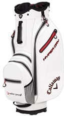 Callaway Hyper Dry Cart Bag, weiss