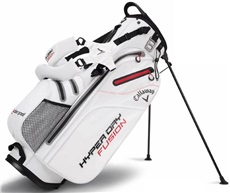 Callaway Hyper Dry Fusion Stand Bag, weiss