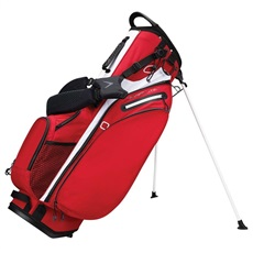 Callaway Hyper-Lite 4 Double Strap Stand Bag, rot