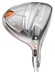 Cobra Fly-Z Silver Flower Pearl Damen Fairwayholz