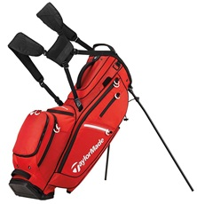 TaylorMade Flextech Crossover Stand Bag, rot