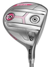 Cobra King F7 Silver Damen Fairwayholz