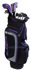 Cobra XL Damen Golfset, Graphit, LH