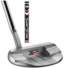 TaylorMade TP Collection Mullen Putter + SuperStroke Griff
