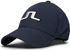 J.Lindeberg Angus Tech Stretch Golf Cap, dunkel blau
