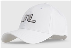 J.Lindeberg Angus Tech Stretch Golf Cap, weiss