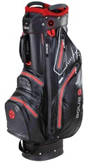 Big Max Aqua Sport Cart Bag, schwarz/rot