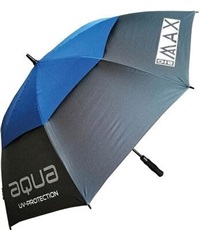 "BigMax Aqua UV Umbrella 60"", charcoal/cobalt blue"