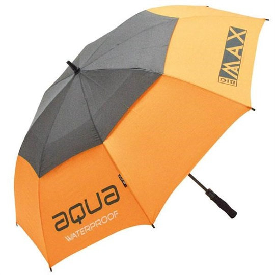 "Big Max Aqua Golf Regenschirm 60"", orange/grau"