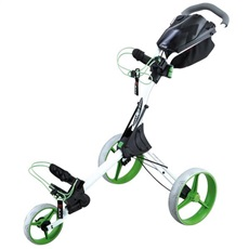 Big Max IQ+ Golftrolley, weiss/limette