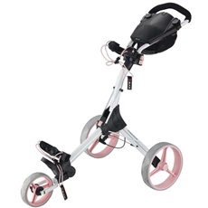Big Max IQ+ Golftrolley, weiss/rosa