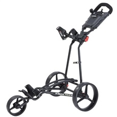 Big Max Autofold+ Golftrolley, schwarz