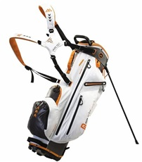 Big Max Dri Lite G Stand Bag, weiss/grau/orange