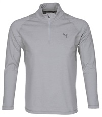 Puma Golf Tech 1/4 Zip Popover Herren Windshirt, grau
