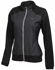 Puma Golf Tech Damen Windjacke, schwarz