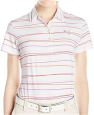 Puma Golf Road Map Map Stripe Damen Poloshirt