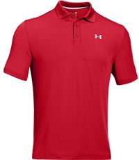 Under Armour Performance Herren Golf Polo, rot