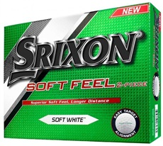 Srixon Soft Feel Pure Whte Golfbälle
