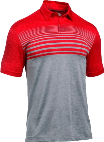 Under Armour Coolswitch Upright Stripe 2017,RED / STEEL / GRAPHITE