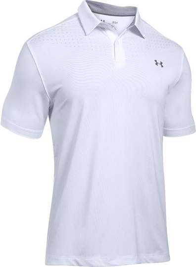 Under Armour CoolSwitch Ice Pick Herren Poloshirt, weiss