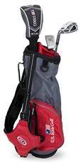 US Kids Golf UL39 3-Club Junior Golfset, 99-107 cm, LH