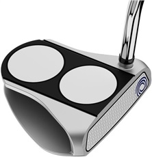 Odyssey White Hot RX 2-Ball V-Line Putter + SuperStroke