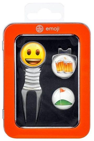 Emoji Beer and Golf Pitchgabel + Ballmarker