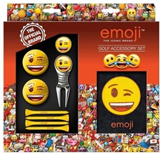 Emoji Wink Golf Gift Set