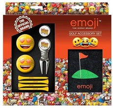 EMOJI Gift Set, Love/Beer/Golf