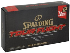 Spalding Tour Flight Golfbälle