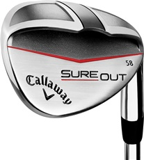 Callaway Sure Out wedge, Graphit