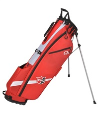 Wilson Staff Quiver Stand Bag, rot