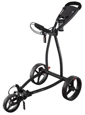 Big Max Blade IP phantom Golf Trolley, schwarz