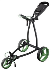 Big Max Blade IP phantom Golf Trolley, schwarz/lime