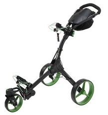 Big Max IQ 360 Golf Trolley, schwarz/lime