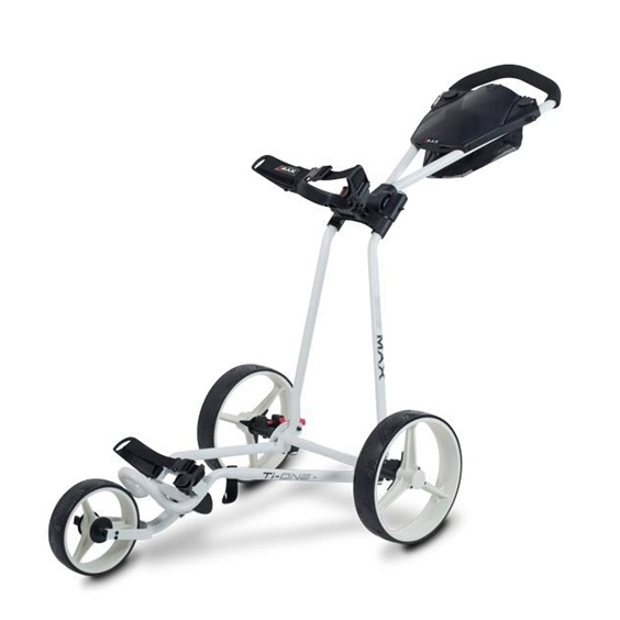 Big Max TI ONE Dreirad Golftrolley, weiss