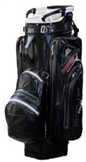 Big Max Aqua Tour 2 Cart Bag, schwarz/grau