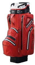 Big Max Aqua Tour 2 Cart Bag, rot/grau/schwarz