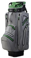 Big Max Aqua Tour 2 Cart Bag, limette/grau/schwarz