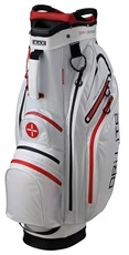 Big Max Dri Lite Active Cart Bag, weiss/rot