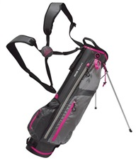 Big Max ICE 7 Stand Bag, grau/rosa