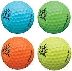 Strata Boom Multi-Color Golfbälle, 1 St.