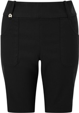 Callaway Chev Pull On II Damen Golf Shorts, schwarz