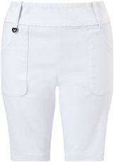 Callaway Chev Pull On II Damen Golf Shorts, weiss