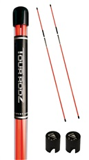 Longridge Tour Rods Sticks Trainingsschläger 2 st., orange