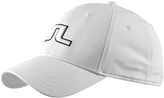 J.Lindeberg Angus Tech Stretch Cap Herren Golf Cap, Weiß