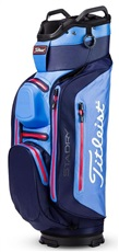 Titleist StaDry Deluxe Cartbag, blau/rot