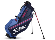 Titleist Players 4 StaDry Stand Bag, blau/rot